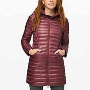 NWT Lululemon Pack It Down Long Jacket *Shine, 4